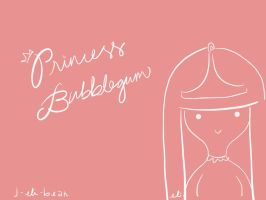 Princess Bubblegum by j-eli-bean