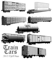 Train Cars by Ironear