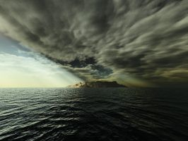 Terragen - perfect storm by duris