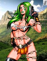 Savage Land Aphrodite IX by Mythical-Mommy
