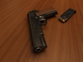 Colt 1911 by HorusWNC