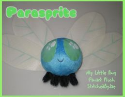 MLP FiM Custom Parasprite Plush by sugarstitch