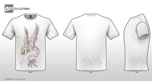 flying fish transparant t-shirt by sophiesfaith