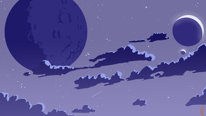 Blue Night by ClearVector