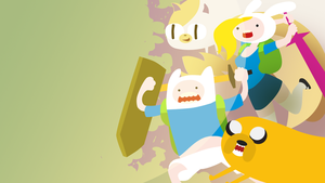 wallpaper : Adventure time by GashibokA