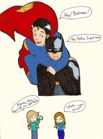 Supes'n'Bats by Allam