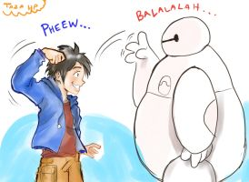 Baymax Bro Fist by Tazaca