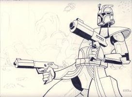 Clone Commander -WIP Star Wars by SurfTiki