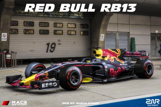 2017 Red Bull RB13 - Daniel Ricciardo - by nancorocks