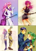 Fire Emblem fanarts by Lady-Werewolf