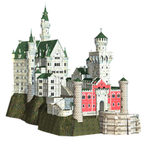 Castle 26 PNG Stock by Roys-Art