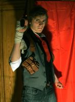 Booker Dewitt Cosplay WIP 2: Bioshock Infinite by thebigemp3