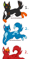 Cheap Canine Adopts -CLOSED- by SakeVanHelsing