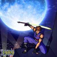 1989 - Strider Hiryu by Jiggeh