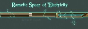 Spear of Electricity by RamSmithForge