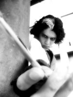 Me as Sweeney Todd by Hichcoot