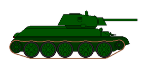 T-34 Model 1941 by KoKoaLover1