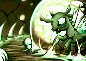 Changeling Drone by HoneyL17