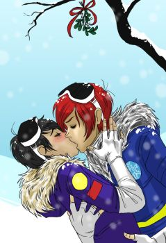 Frerard Happy Holidays by Hootsweets