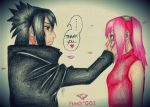 Sasuke and Sakura by Fresh002