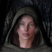 The Lady of the Woods by spleenmuncher