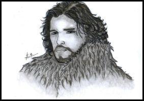 Jon Snow by nuwantha1016