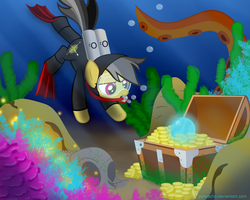 Daring Do And The Kraken's Treasure ~ by PonyEcho
