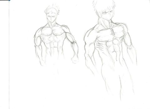 male sketches by The-white-reaper