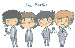 The Fab Four by Quuy