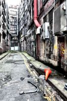 Glasgow: Empty Alley by basseca