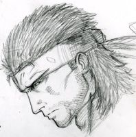 Solid snake by tserrof