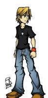 Keith Collins: TWEWY Style by CaineScroll