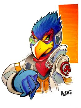 Copic Falco by herms85