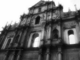 Ruins of St. Paul by whitephant0m