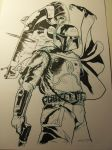 Boba Fett is in the Huouse by elena-casagrande