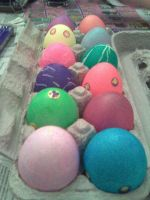 .Easter Eggs. by CRCstinger