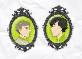 Charms - Sherlock and John by SirLemoncurd