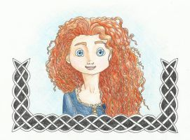 Merida-Brave by Xijalle