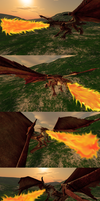 request: dragon fire by Spays