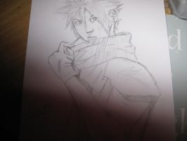 Cloud Strife by lulujweston