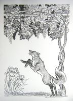 The Fox Leaped High by HouseofChabrier