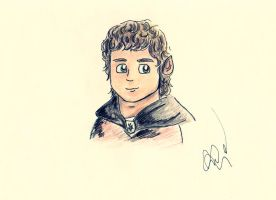 Frodo Baggins by michumichuu