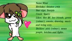 Mimi's Id. by Doodle-To-The-Rescue