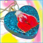 Inuyasha Resin Necklace by bapity88