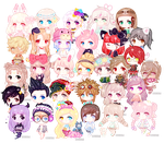 C: Mini Pagedoll Batch 4 by Oldivory