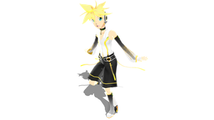 MMD Append Len DL by Kanahiko-chan