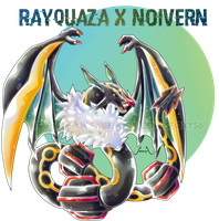 Rayquaza X Noivern by Seoxys6
