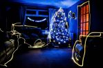 Christmas Light Painting by keithajb