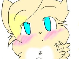 Hello I is cream the hybrid cat ^^ by snivy-fan