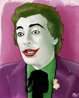 Cesar Romero as the Joker by yescabrita